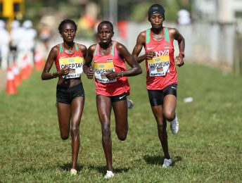 KAMPALA, UGANDA - Sunday 26 March 2017, during the senior women's race of the IAAF World Cross Country Championships at the Kololo Independence Grounds in Kampala. (Photo by Roger Sedres for IAAF)
