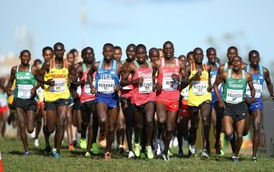 KAMPALA, UGANDA - Sunday 26 March 2017, during the senior mens race of the IAAF World Cross Country Championships at the Kololo Independence Grounds in Kampala. (Photo by Roger Sedres for IAAF)