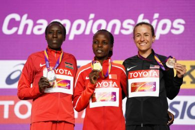 marathon women medallists